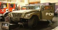 Σύγχρονα τεθωρακισμένα οχήματα από την διεθνή έκθεση Interpolitech