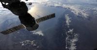 O αστροναύτης Douglas Wheelock φωτογραφίζει την Γη από τον Διεθνή Διαστημικό Σταθμό (ΔΔΣ, ΙSS)