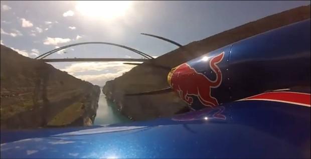 Διέλευση της Διώρυγας της Κορίνθου … με αεροσκάφος